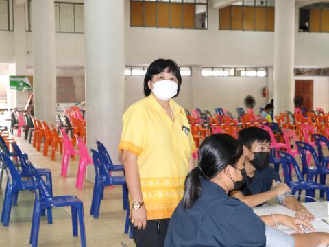 13 ต.ค.64 ฉีดวัดซีนไฟเซอร์ ครั้งที่ 1